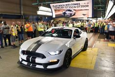 All-New Ford Shelby® GT350R Mustang Roars Off The Line At Flat Rock Assembly Plant