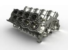 Bugatti Veyron engine block. Enjoy :)