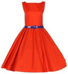 Lindy Bop Rockabilly Kleid 50er Jahre Audrey, Orange Gr. 40 Lindy Bop,http://www.amazon.de/dp/B00COJKFZA/ref=cm_sw_r_pi_dp_RU5Htb08RG1VSCTF