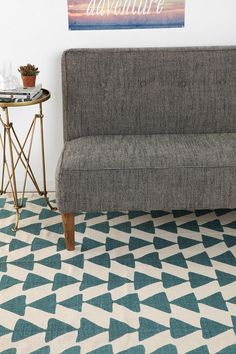 Magical Thinking Triangle Chain Rug #urbanoutfitters