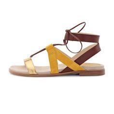 Sandal Spring Summer 2016, Sunshine, Sandals, Womens Fashion, Gold, Collection, Shoes, Slide Sandals, Sandal