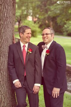 Gregg & Michael's July 2014 #wedding at the Stage House Tavern =D (photo by deanmichaelstudio.com) #summer #photography #lgbt #photography #red #love #deanmichaelstudio