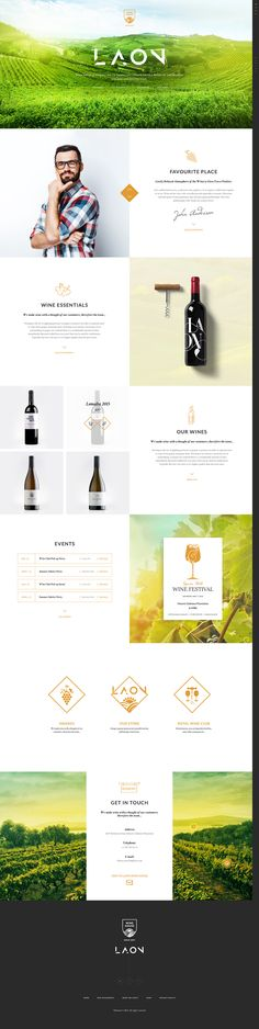 Laon is a WordPress theme crafted for winery/vineyard websites, online wine shop. Laon is a WordPr Wine Websites, Wordpress Theme, Wine Tasting Outfit, Mise En Page Web, Online Wine Shop, Interface Web, Site Vitrine, Wine House, Wine Collection
