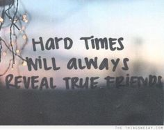 True friends are.great. fake friends suck and seem true till things turn into lies and rumors...ugh Alanna c.