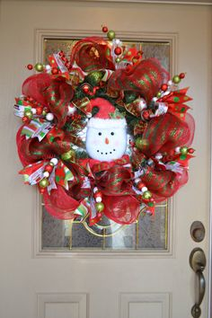 Snowman Mesh Wreath by kristenscreations on Etsy1000 x 1500348KBimg0.etsystatic.com