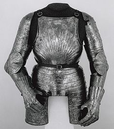 Elements of a Light-Cavalry Armor, ca. 1505–10 Christian Schreiner the Younger (Mühlau, recorded 1499–1528) Austrian (Innsbruck/Mühlau) Steel