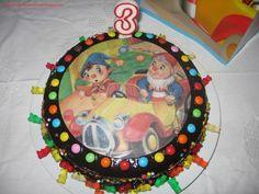 kids parties#noddy cake#festas crianças