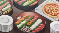 "anime–food: ""Yowamushi Pedal: New Generation - Episode 5 "" Anime Bento, Good Food, Yummy Food, Always Hungry, Getting Hungry, My Best Recipe, Anime Scenery, Food Illustrations, Hot Dog Buns"