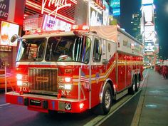 FDNY Rescue 1 (this E-One was replaced by a Ferrara Rescue 1 in 2012)