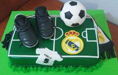 Tarta Real Madrid 3 | De Perla's | Tartas fondant personalizadas en Málaga