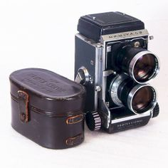 Vintage Camera Mamiya C3 TLR with 135mm lens and Waistlevel Viewfinder for Medium Format 120 Film $230