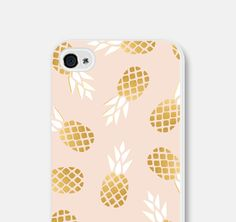 Pink and Gold Pineapple iPhone 5c Case  Pineapple by fieldtrip, $22.00