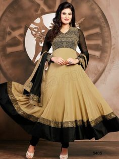 Latest Indian Party Wear Dresses Collection consists of new anarkali suits fashion 2015 for women by Natasha Couture. These formal frocks and suits are best to wear at festivals, events, parties and many more! Indian Party Wear, Indian Wedding Outfits, Indian Outfits, Indian Attire, Indian Clothes, Wedding Dress, Latest Anarkali Suits, Latest Salwar Suit Designs, Anarkali Frock