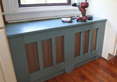 15 DIY Radiator Covers That You Can Easily Make