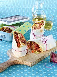 Wraps sind die gesunde Alternative zu kalorienreichen Sandwiches.