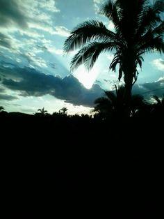 Um radiante pôr do sol ! Povoado Eira (Pedreiras - MA). Créditos: Sandro Vagner.