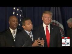 Black Pastors Endorsing Donald Trump Speak at Virginia Rally (12-2-15) - YouTube