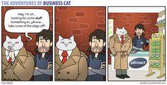 The Adventures of Business Cat - Dealings by tomfonder.deviantart.com on @DeviantArt