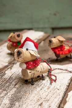 Excited to share this item from my shop: Wine Cork Dog Ornament Wine Cork Dog Ornament Handmade One of a Kind Fun to give Great hostess gift Cork Christmas Trees, Dog Christmas Ornaments, Christmas Crafts, Outdoor Christmas, Dog Christmas Gifts, Christmas Sewing, Snowman Ornaments, Christmas Christmas, Wine Cork Art