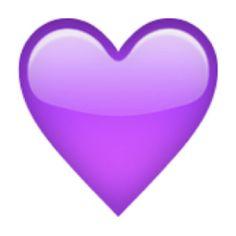 Purple Heart Emoji (U+1F49C/U+E32D)