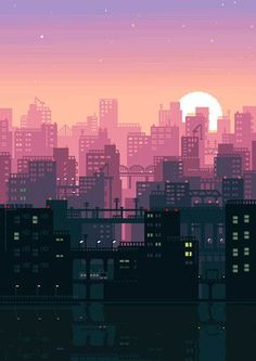 Post with 2676 votes and 121544 views. Tagged with gaming, gif, pixel art; I'll just leave some pixel art GIFs here. Aesthetic Gif, Aesthetic Wallpapers, Arte 8 Bits, Anime Gifs, 8bit Art, Anime Scenery, Cute Wallpapers, Anime Backgrounds Wallpapers, Cool Wallpapers For Phones