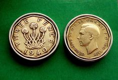 80th Birthday, Birthday Gifts, Irish Independence, Celtic Circle, Christmas Labels, World Coins, Thrifting, Unique Gifts, Cufflinks