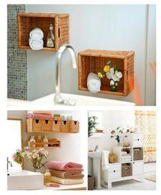 Ideias e imagens ultra inspiradoras para organizar a casa toda com nichos. Faça você mesmo nichos super legais para decorar vários ambientes.