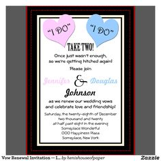 wedding invitations for renel of the veiws - Google Search