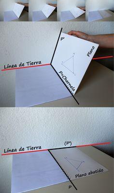 Abatimiento de planos en Sistema Diédrico y un truco que pocos saben | 10endibujo