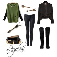 Legolas by michelle-geiser on Polyvore love the boots
