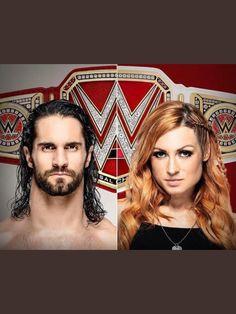 Wwe Seth Rollins, Seth Freakin Rollins, Becky Lynch, Becky Wwe, Wwe Couples, Rebecca Quin, Wwe Champions, Royal Rumble, Alexandra Daddario