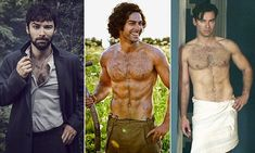 Hair I am again! Poldark star Aidan Turner let himself grow<---both the right and left are from the bbc series And then there were none. I like him better with longer hair, though.