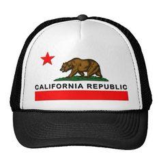 California Republic Hats http://www.zazzle.com/california_republic_hats-148506837469836033?rf=238675983783752015