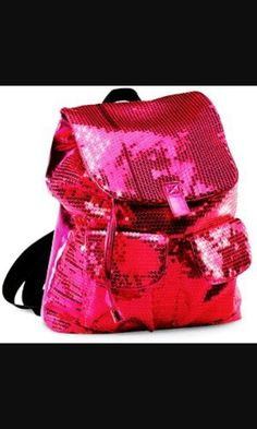 Hot pink Backpack Purse, Hot Pink, Backpacks, Purses, Bags, Fashion, Handbags, Handbags, Moda
