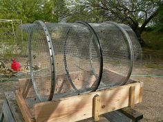 Lazy Gardening: DIY Trommel Sifter for Compost