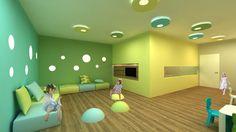 kindergarten lobby design ile ilgili görsel sonucu