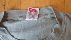 1991 orginal Powell Peralta T-Shirt Label