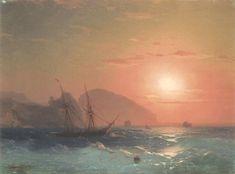 View Of The Ayu Dag, Crimea - Ivan Aivazovsky