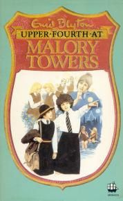 Loved all of Enid Blyton's Malory Towers series - my edition of this book has exactly the same cover.