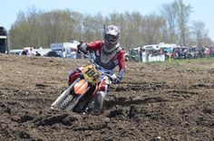 Matt Cherkis at Pavilion MX Park in Pavilion, NY - Motocross Race on May 6, 2012