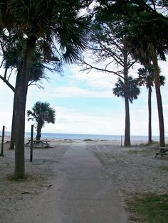 Hunting Island State Park, SC- camping adventure! Camping on the beach sounds fun!