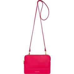 Bueno Contrast Double Clutch Bag in Rose/Grape | Oroton