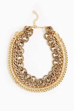Collar Dorado :D