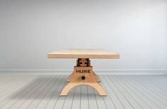 Plywood Hure Dining Table by Vintage Industrial in Phoenix, AZ
