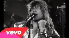 wanted dead or alive bon jovi lyrics - YouTube