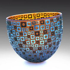 Pismo Fine Art Glass  another by Robert Wynne.  Very different - has an industrial sort of look, to me anyway.