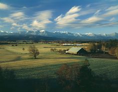 Love this place, grew up here :) Dungeness Valley. Sequim, Washington.