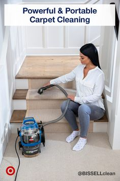 House Cleaning Tips, Deep Cleaning, Cleaning Hacks, Cleaning Crew, Cleaning Closet, Portable Carpet Cleaner, Pet Urine, Green Carpet, Carpet Cleaners