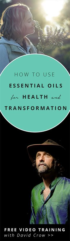 Aromatherapy training: Enter your email to get free access to training on how to use essential oils. Learn how to use essential oils to boost immunity, sleep better, and release stress. Aromatherapy, Ayurveda, and Traditional Chinese Medicine with David Crow.