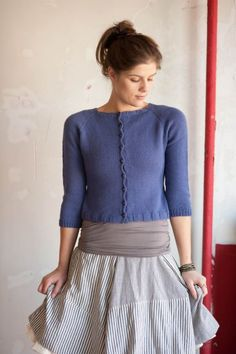 Judith cardigan from Quince and Co.